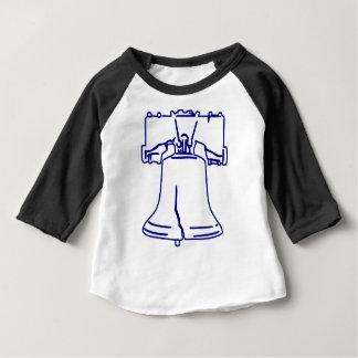 Blue Liberty Bell Baby T-Shirt