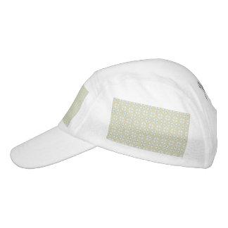 Blue Life Preservers on Sandy Brown Hat