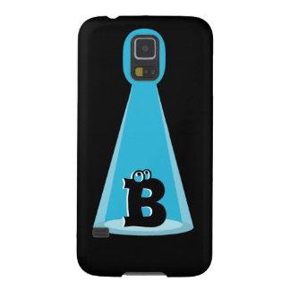 Blue Light Beam Monogram Case For Galaxy S5