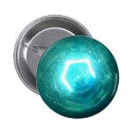Blue Light Bulb Pin