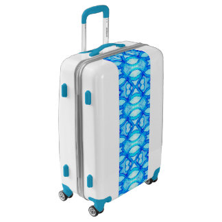 Blue Light Cool Luggage