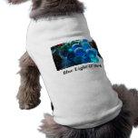 Blue Light & Dark Pet Tee Shirt