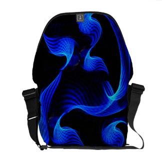 Blue Light Extravaganza Messenger Bag