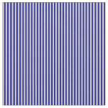 [ Thumbnail: Blue & Light Gray Colored Lines/Stripes Pattern Fabric ]