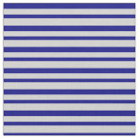 [ Thumbnail: Blue & Light Gray Colored Pattern Fabric ]