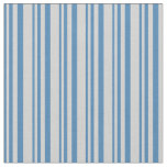 [ Thumbnail: Blue & Light Gray Pattern Fabric ]