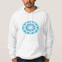 Blue Light Kaleidoscope Hoodie