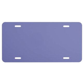 BLUE LIGHT MORNING MIST (solid color) ~ License Plate