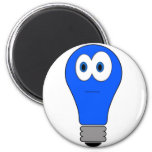 Blue Light Special 2 Inch Round Magnet