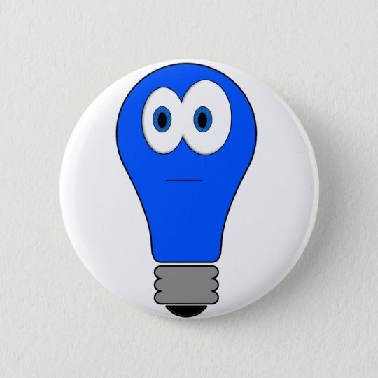 Blue Light Special Pinback Button