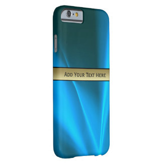 Blue Light Trails Graphic Design Barely There iPhone 6 Case