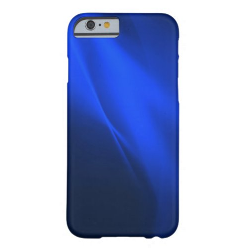 Blue Light Trails Modern Science Phone Case