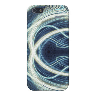 Blue Light Waves Case For iPhone 5