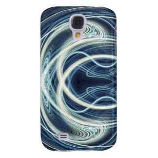 Blue Light Waves Galaxy S4 Case
