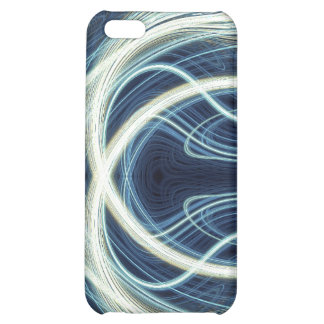 Blue Light Waves iPhone 5C Cover
