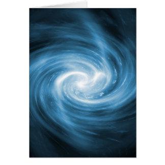 Blue light whirlpool card