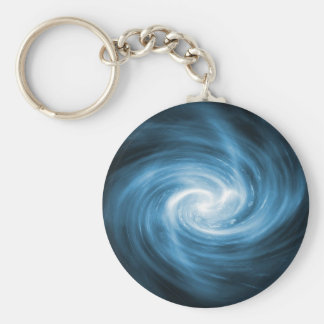 Blue light whirlpool keychain