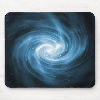Blue light whirlpool mouse pad