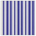 [ Thumbnail: Blue & Light Yellow Striped/Lined Pattern Fabric ]
