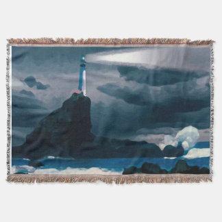 Blue Lighthouse blanket