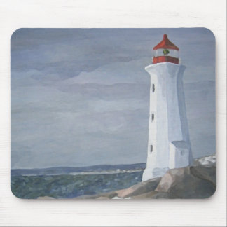 Blue Lighthouse mousepad