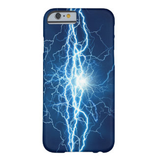 Blue Lightning Barely There iPhone 6 Case