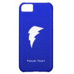 Blue Lightning Bolt iPhone 5C Case