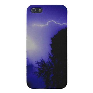 Blue Lightning iPhone SE/5/5s Cover