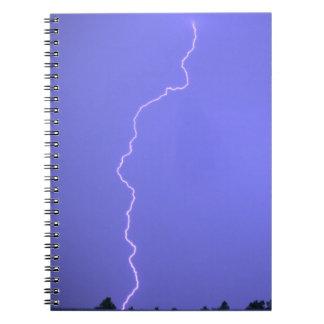 Blue Lightning Notebook