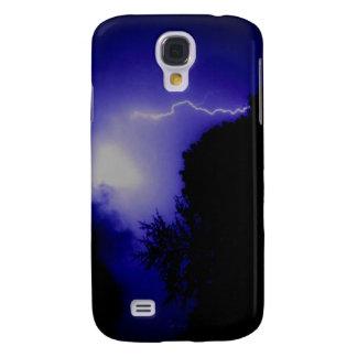 Blue Lightning Samsung Galaxy S4 Cover