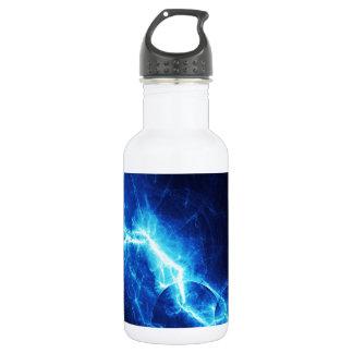 Blue Lightning Water Bottle