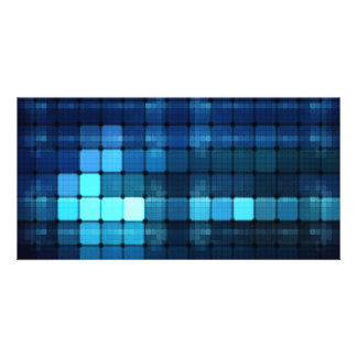Blue Lights Card