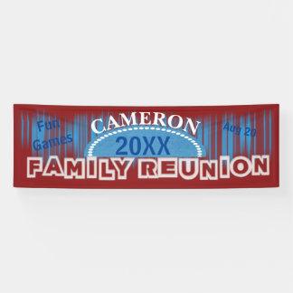 Blue Lights Family Reunion Banner