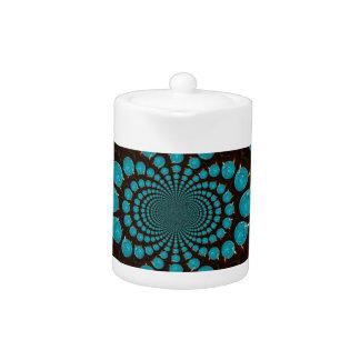 Blue Lights Teapot