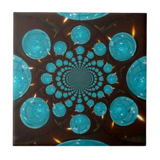 Blue Lights Tile