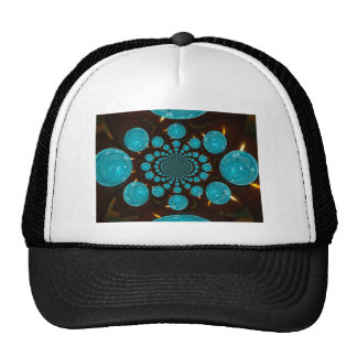 Blue Lights Trucker Hat