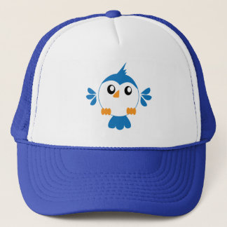 Blue Lil' Bird Trucker Hat