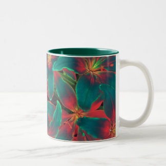 Blue Lilies Mug