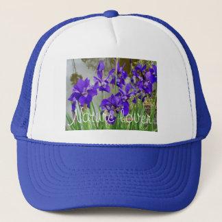 Blue Lilies Trucker Hat
