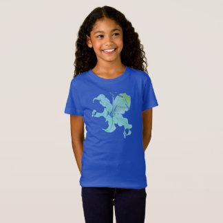 blue lily T-Shirt