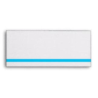 Blue Line #10 Envelope
