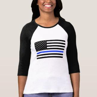 Blue Line de las mujeres señala la camisa por