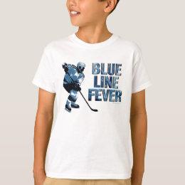Blue Line Fever (Hockey) T-Shirt