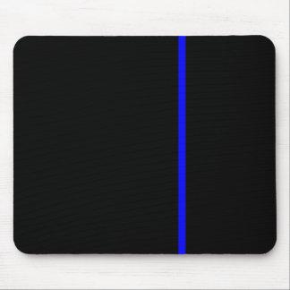 Blue Line fino Alfombrillas De Ratón