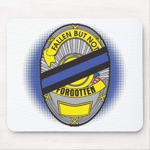 Blue Line fino Badge Mouse Pad