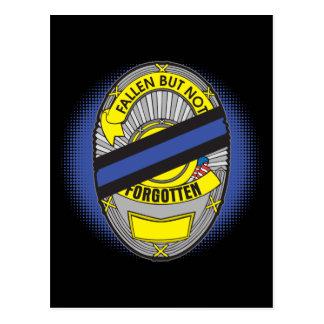 Blue Line fino Badge Postal