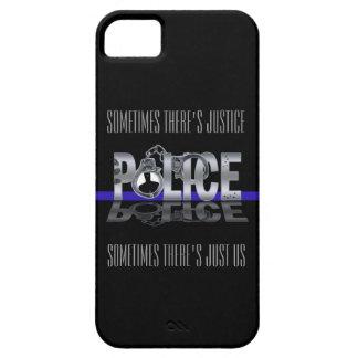 Blue Line fino: Caso del iPhone 5 de la POLICÍA iPhone 5 Carcasa