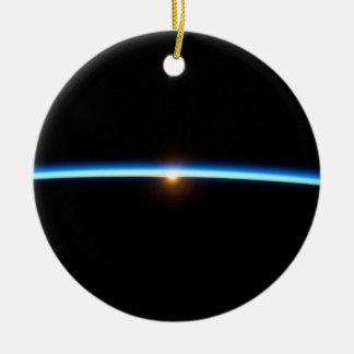 Blue Line fino Ornamentos De Navidad