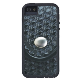 Blue Line fino - encargado de la correa de la iPhone 5 Case-Mate Cárcasa