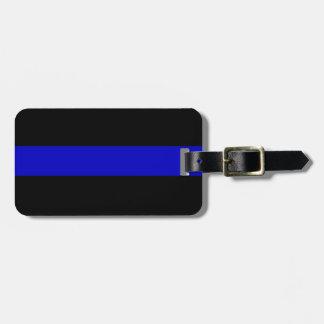 Blue Line fino Etiquetas Maletas